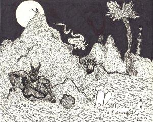 memory__h_p__lovecraft_by_khalfrodod-d6s68gl
